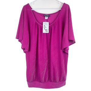 NWT American City Wear Plus Size Top